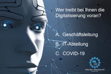 Digitalisierung durch Covid-19